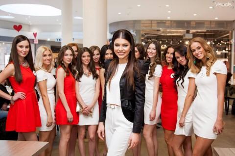 Miss Slovensko 2015 predstavenie