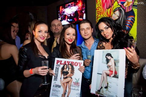 Playboy party & Twiins